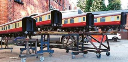 Modely osobních vozů s rozchodem 184 mm