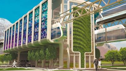 Dubaj testuje revoluční městskou dopravu kabinkami Skyway
