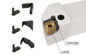 Obr. 1: Břitová destička Iso-EcoTurn s adaptérem