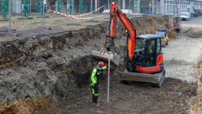 Stavba nové loupací linky začala