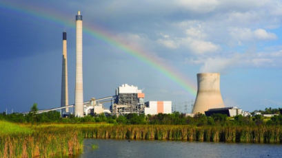 Elektrárna Callide C v Austrálii /Ilustrační obrázek/
