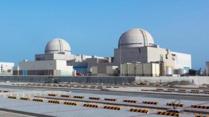 Jaderná elektrárna Barakah /Zdroj: www.thenational.ae/