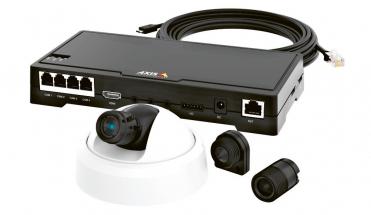 Softwarová aplikace s názvem Store Occupancy Manager se instaluje přímo do kamery Axis