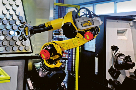 Obr. 3: Rameno robotu