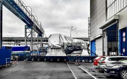 Expedice turbíny z výrobní haly Doosan Škoda Power