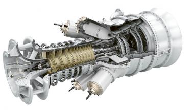 Demonstrační model zařízení typu power-to-X-to- -power s moderní plynovou turbínou pro spalování vodíku,