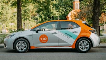 Sdílenými auty bude letos jezdit 15 milionů Evropanů