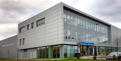 Obr. 1: Technické a vývojové centrum Hyundai-WIA Tech Cube