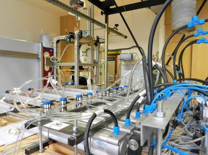 K experimentům vědci využili i simulátor lidského dýchání