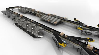 Mechanická konstrukce třídiče se zkříženými pásy od firmy Interroll umožňuje zákazníkům zkrátit dobu instalace. Po celém světě již bylo instalováno více než 400 třídičů.