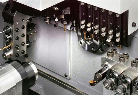 Obr. 3: Soustružnický automat L12-2M10