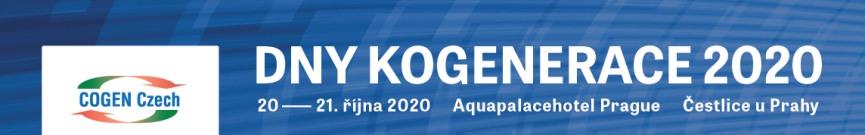 DNY KOGENERACE 2020
