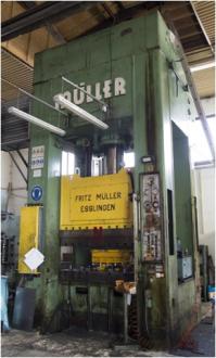 Hydraulický lis MÜLLER 400