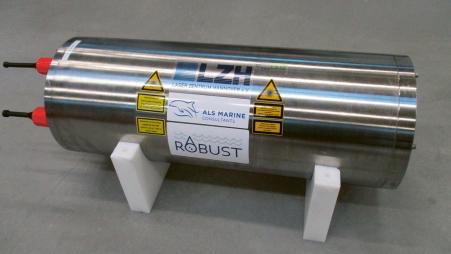 Laserová souprava z LZH pro podmořský výzkum surovin