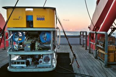 Podmořský robot ROV Kiel 6000