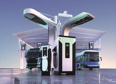 Elektrobusy Rampini jsou vybaveny trakční baterií s kapacitou 200 kWh