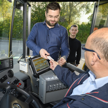 Společnost BLT vyvinula svůj vlastní software určený k prodeji autobusových jízdenek využívající zařízení Panasonic TOUGHBOOK.