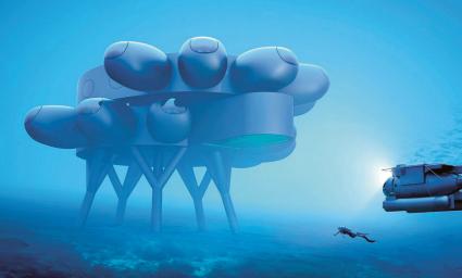 Stanice Proteus by se podle Cousteaua měla stát podmořskou obdobou Mezinárodní vesmírné stanice na oběžné dráze. Podmořský svět je ostatně pro nás podobně jako vesmír stále dost nepřístupný a neznámý.
