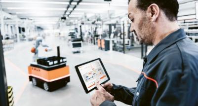 Nahlížení do dat robotů, objednání náhradních dílů, správa licencí a mnohé další funkce spojuje portál my.KUKA