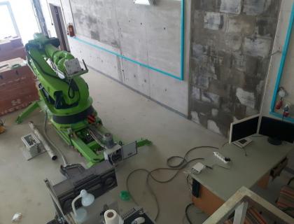 Stavevbní robot KM Robotics /Zdroj: KM Robotics/