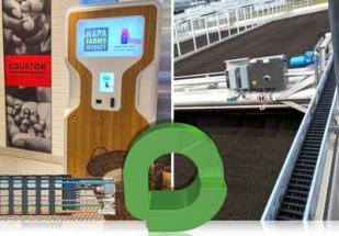 """První """"Zelené vektory"""" získaly společnosti Drop Water Co a Huber SE za své ekologické aplikace energetických řetězů. (Zdroj: HENNLICH/igus)"""