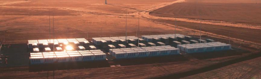 Úložiště společnosti Tesla u Hornsdale na jihu Austrálie