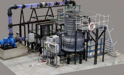 Z virtuálního do skutečného světa: Digitální znázornění demonstračního modelu čerpací stanice odpadních vod na TU v Berlíně