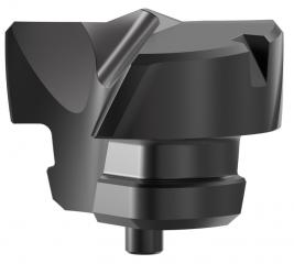 Nejnovější člen rodiny KenTIP FS: vrtací korunka FEG odstraňuje při výrobě otvorů s plochým dnem potřebu vrtání a následného frézování – namísto toho lze úlohu dokončit v jediné operaci.