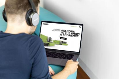 Návštěva veletrhu z pohodlí vašeho domova: společnost ENGEL v roce, kdy se nemůže uskutečnit Fakuma, nastavuje svým zcela novým virtuálním veletržním konceptem nová měřítka. /Obrázek: ENGEL/