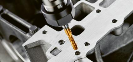 Technologie Punch Tap umožňuje výrobu vnitřních závitů za čtvrtinu času oproti konvenční technologii závitování