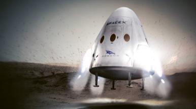 Původní Muskova vize – Red Dragon na Marsu – padla