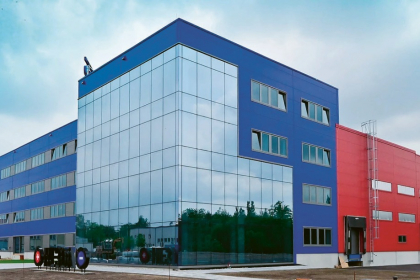 Budova společnosti Magna Energy Storage v Horní Suché