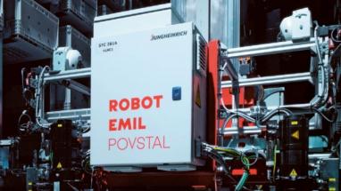 Robot Emil povstal a obsluhuje sklad pro profesionály v gastronomii