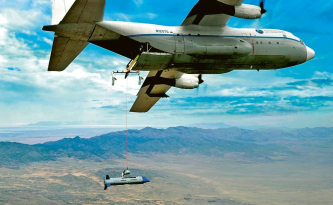 Bezpilotní letadlo Gremlins X-61 A dokončilo druhé kolo leteckých zkoušek
