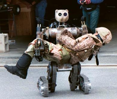 Umělé inteligence řídí roboty při záchranných akcích