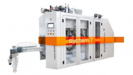 Formovací, plnicí a zatavovací pytlovací stroj STATEC BINDER System-T