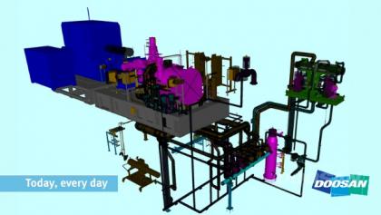 Turbína DST-G10 pro WtE pojekt ve skotském Aberdeen
