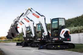 Bobcat 5-6 tonnes Excavataros