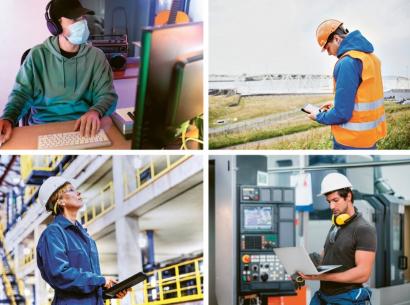 Nejtěžší práce při opravě zařízení spočívá v identifikaci závady a stanovení procesu opravy. Obojí lze popsaným způsobem zvládnout na dálku, stejně jako asistenci experta při výměně vadného dílu nebo při opravě nastavení stroje.