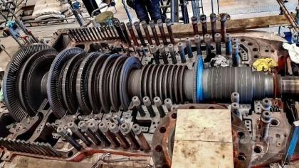 Generální opravu turbíny ve švédské spalovně biomasy Sandvik 3 provedli odborníci z Doosan Škoda Power