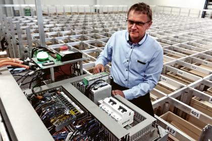 """Ing. Leoš Beran, Ph.D.: """"V horní části robotu je uložen řídicí systém"""""""