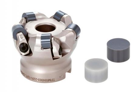 Obr. 6: Fréza Tungaloy CeramicSpeedMill pro práci s kruhovými keramickými VBD
