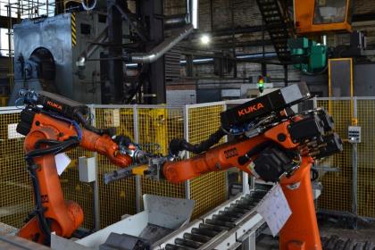 Roboty v provozu drobné kolejivo