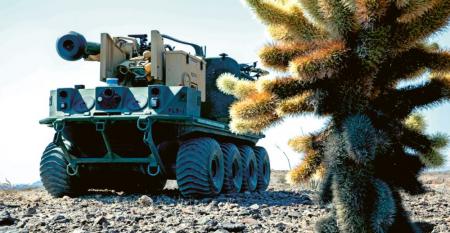 V arizonské poušti provedla americká armáda sérii živých zásahů s cílem ukázat, jak mohou systémy umělé inteligence spolupracovat