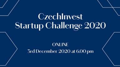 Nadějné české startupy se představí v soutěži CzechInvest Startup Challenge 2020