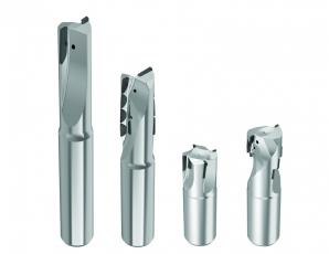 Standardní nabídka zahrnuje široký výběr PKD stopkových fréz v průměrech do 50 mm