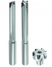 Nabídka rotačních PKD nástrojů zahrnuje řadu možností pro výrobu a dokončování otvorů, včetně modulární vystružovací hlavy až do průměru 42 mm.