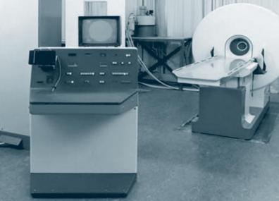 První počítačový tomograf ve FN Hradec Králové