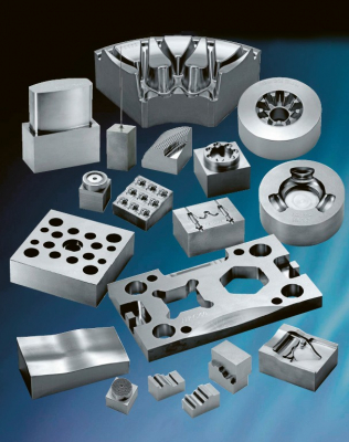 Obr. 1: Výrobky pro stroje Yasda YBM