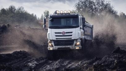 Největší nárůst vývozu zaznamenala Tatra /Foto: TATRA TRUCKS a.s./